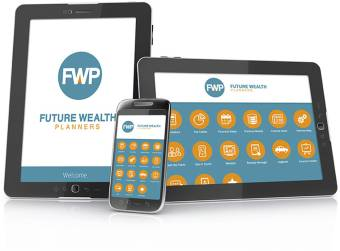 Future Wealth Planners App showcase